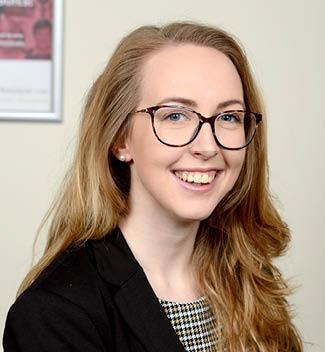 Sophie Rogers Ringrose Law portrait